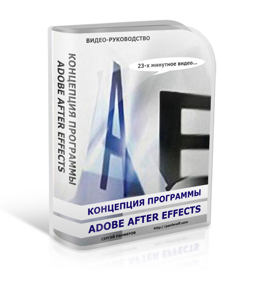 Концепция программы Adobe After Effects